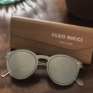 #cleonicci mirror round sunglasses
